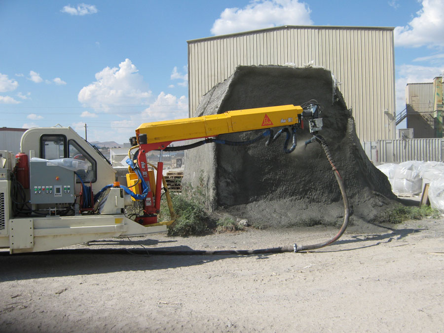 Shotcrete Vehicles Underground Mobile Mining Equipment
